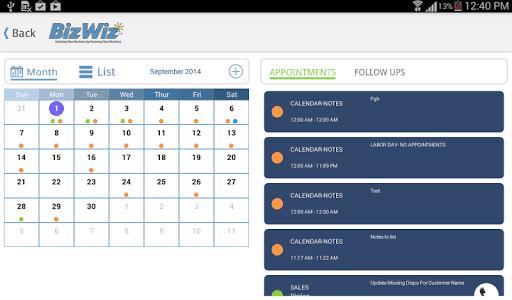 Scheduler example