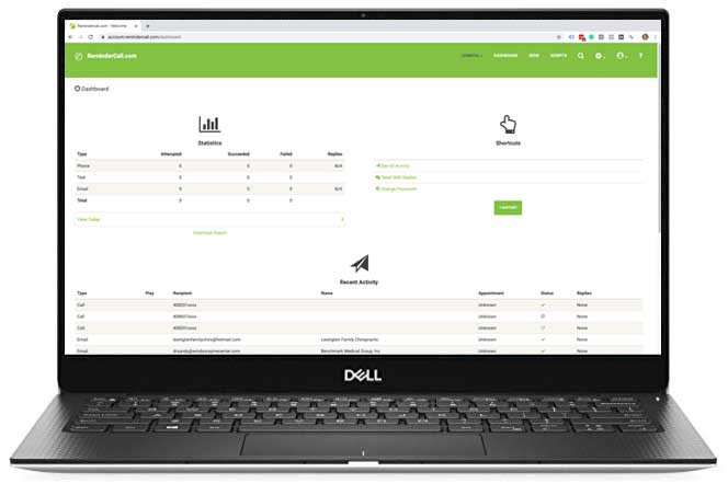 Appointment Reminder Dashboard