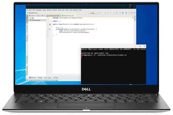 Laptop API mockup